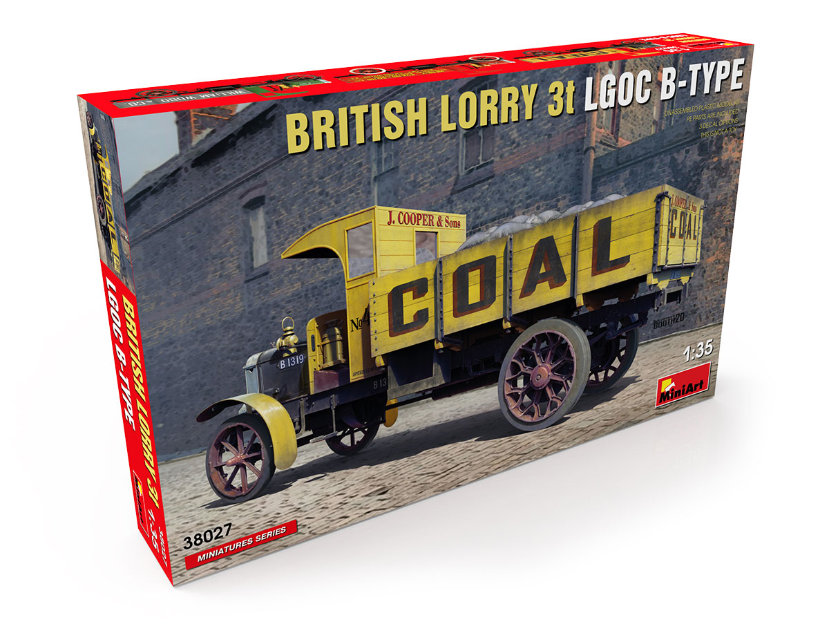 MiniArt British Lorry LGOC 3t B-Type
