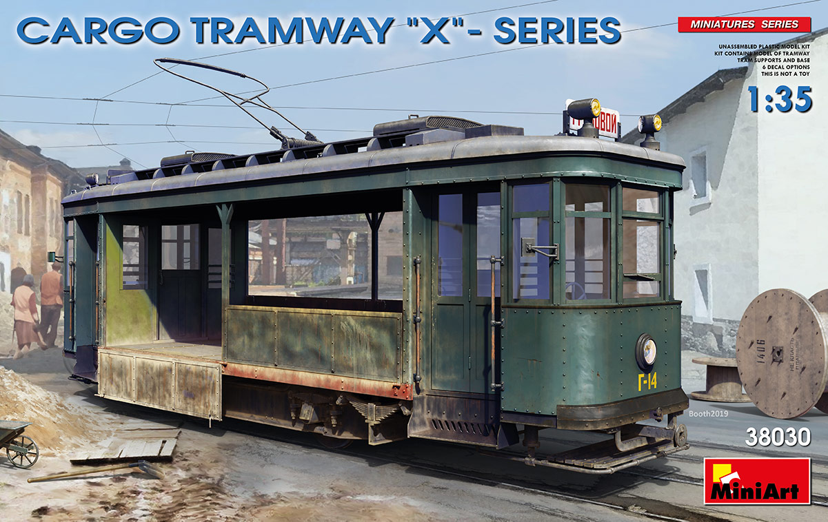 MiniArt Cargo Tramway X-Series