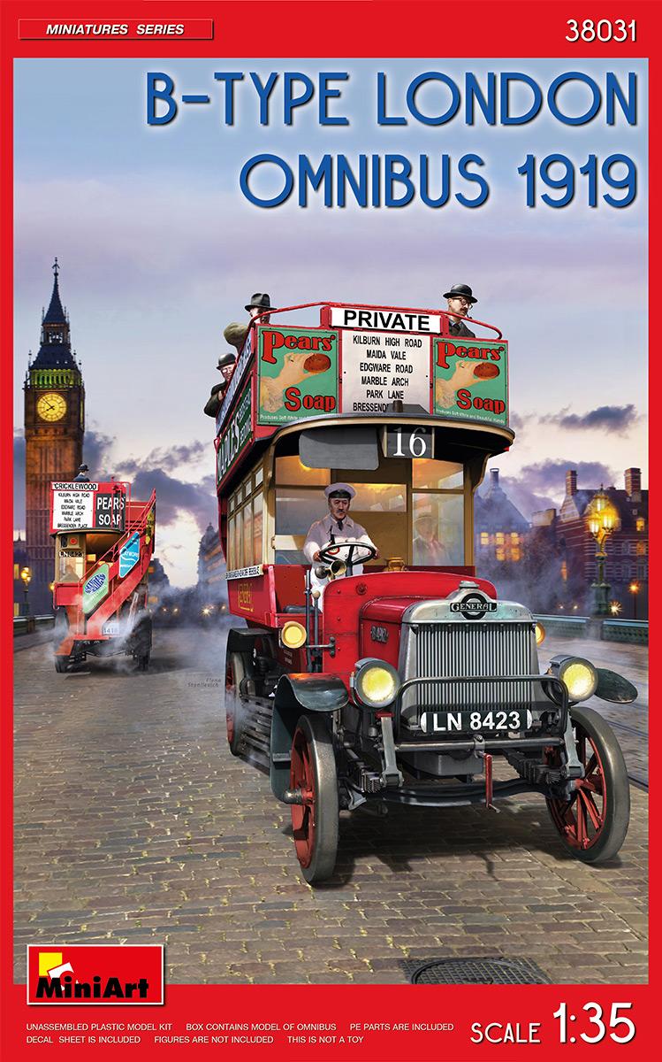 MiniArt B-Type London Omnibus 1919 1/35 Scale