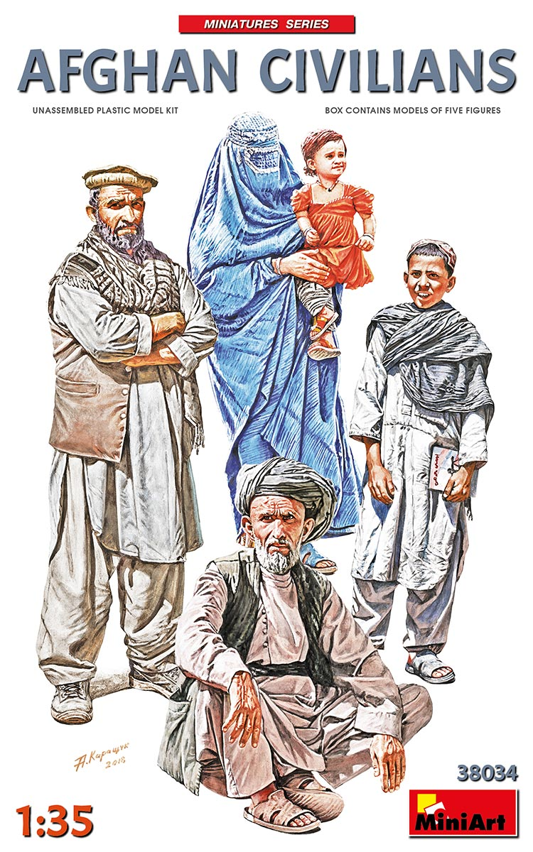 MiniArt Afghan Civilians