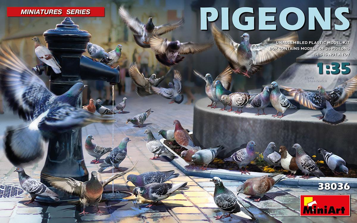 MiniArt Pigeons