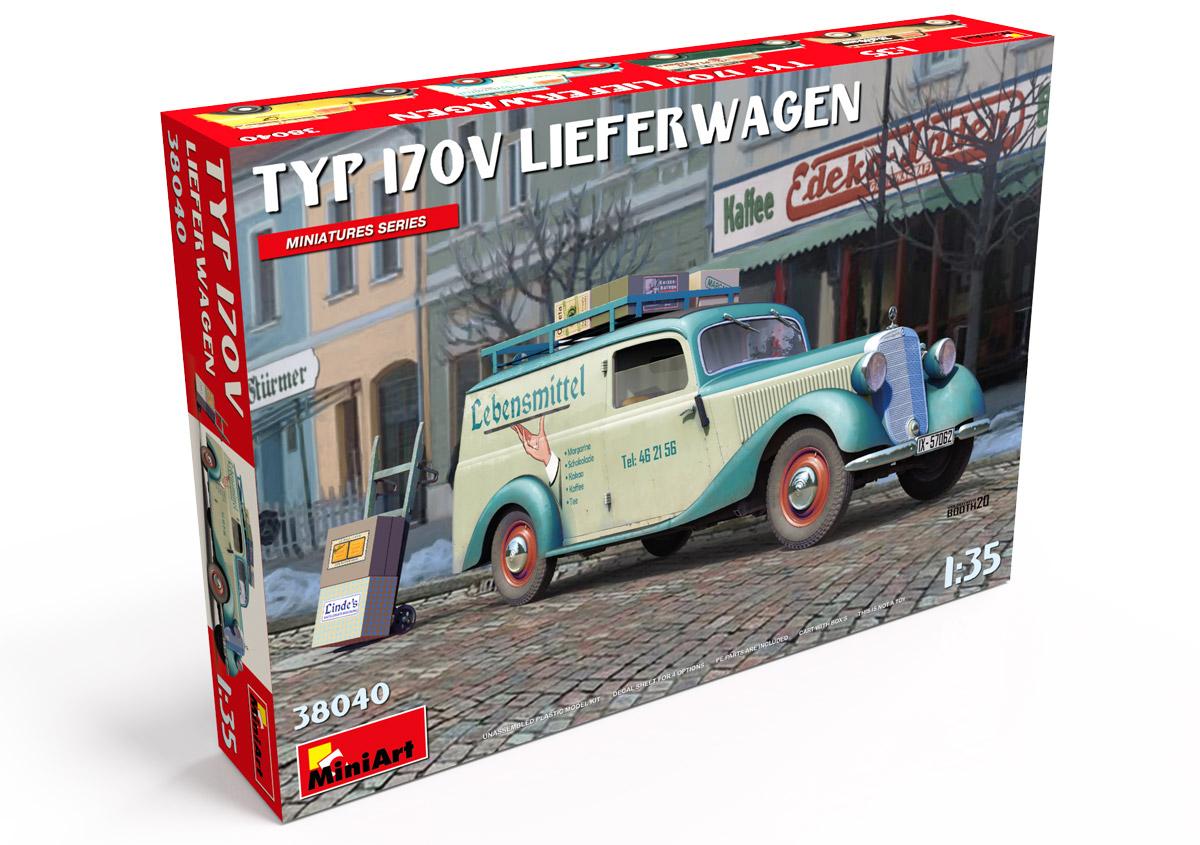 MiniArt Typ 170V Lieferwagen