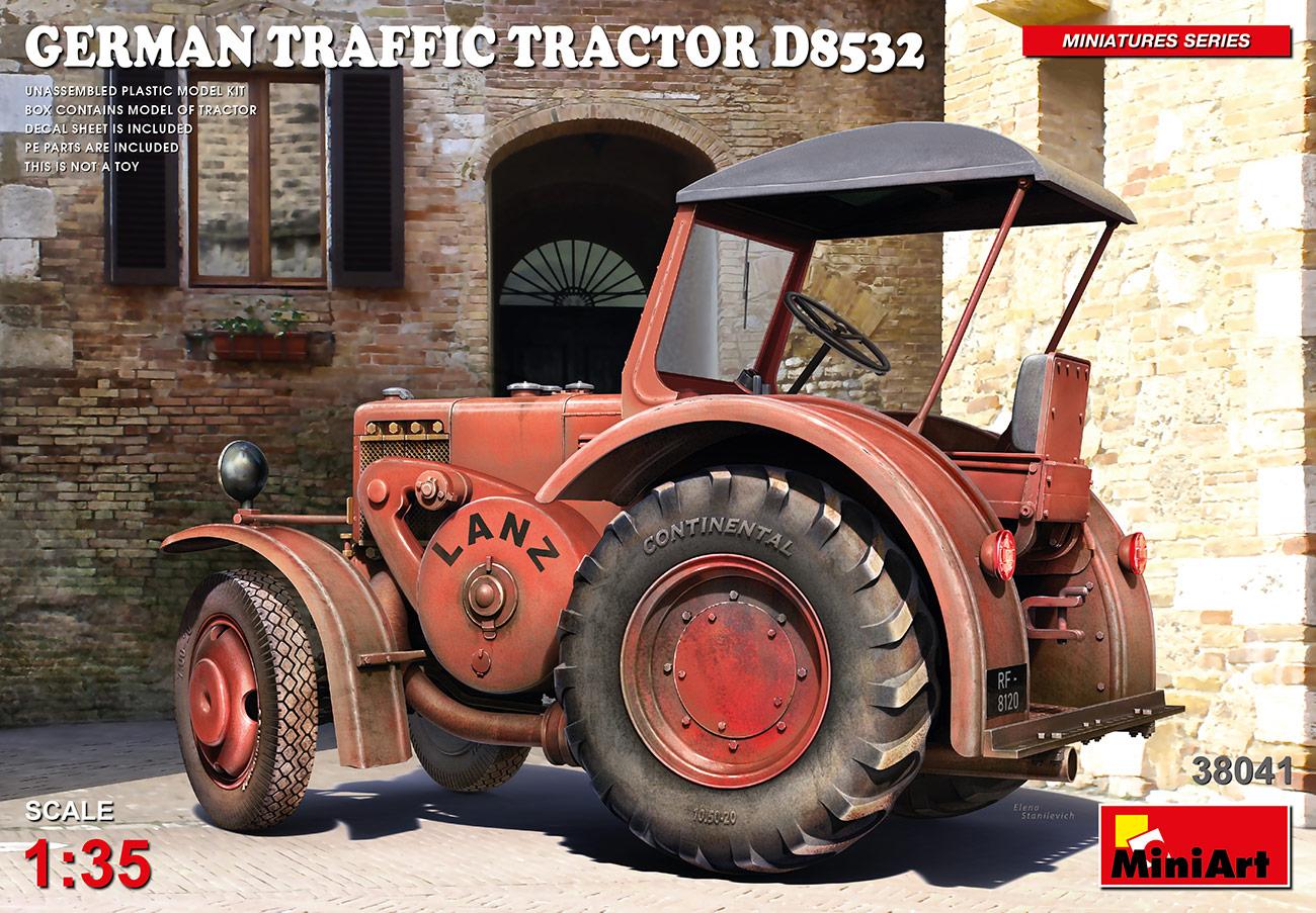 MiniArt 1/35 German Traffic Tractor D8532