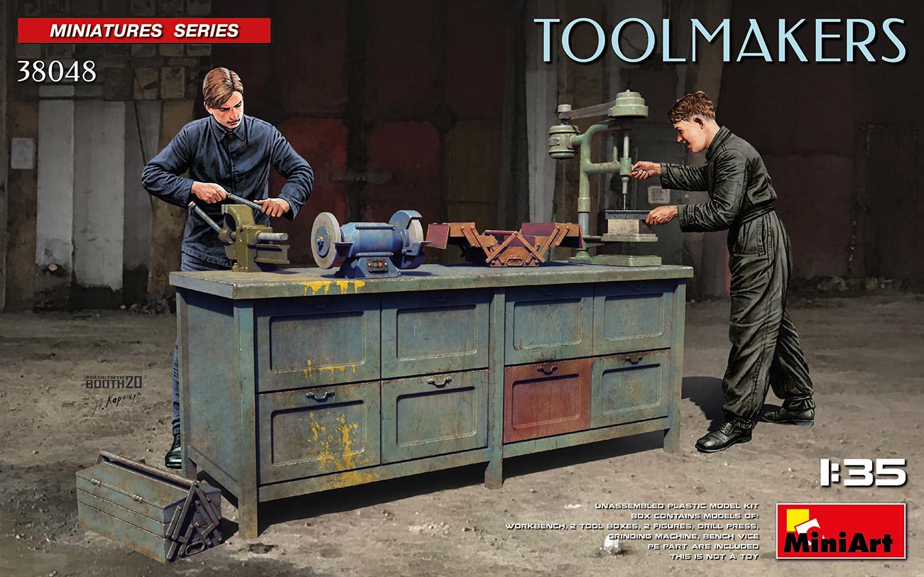 MiniArt 1/35 Toolmakers