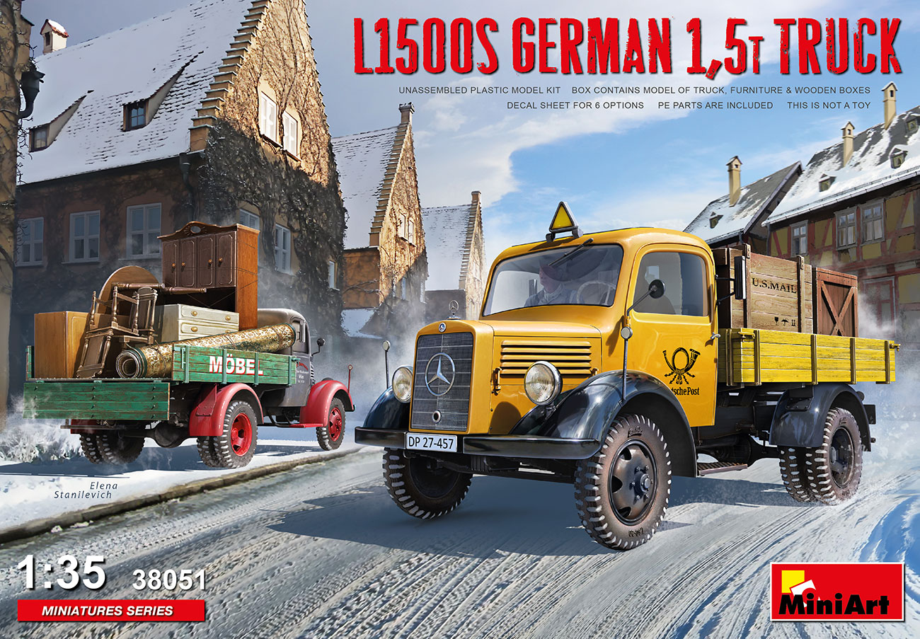 MiniArt 1/35 L1500S German 1.5t Truck