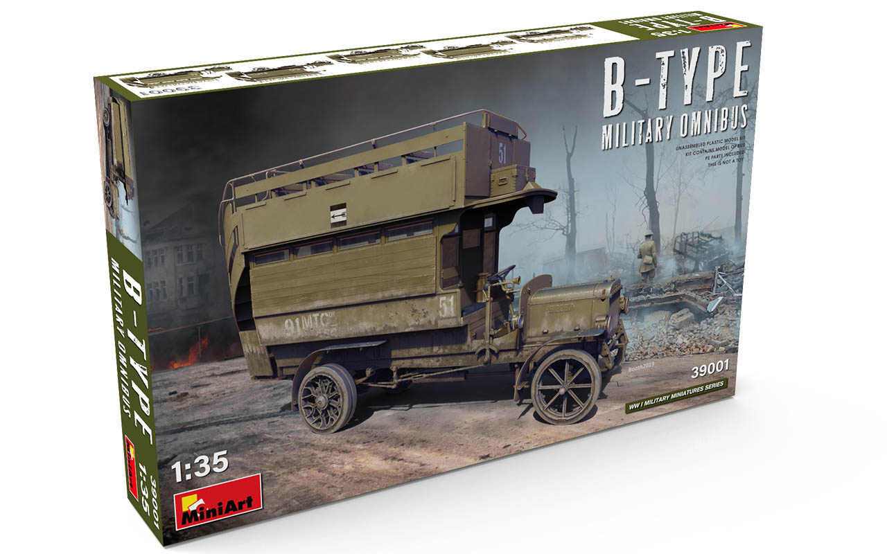 MiniArt B-Type Military Omnibus