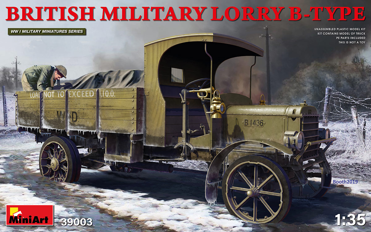 MiniArt British Military Lorry B-Type