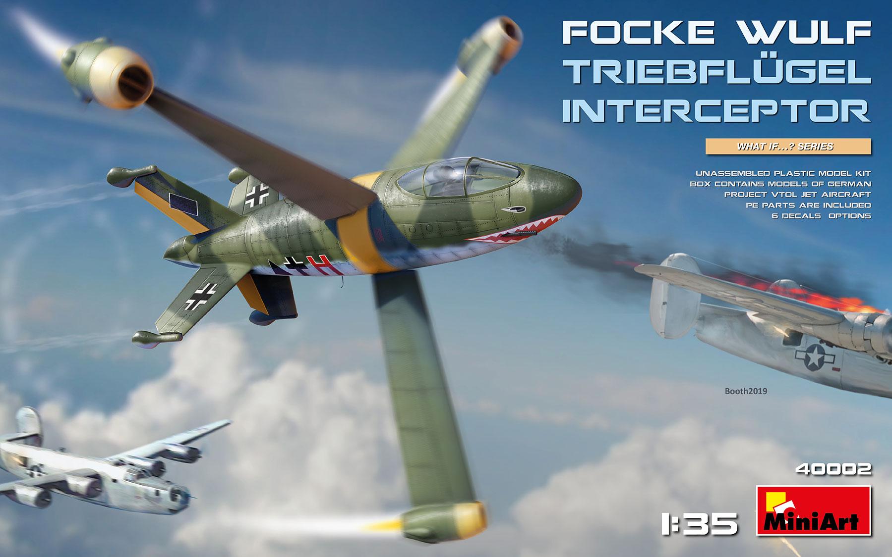 Miniart Focke-Wulf Triebflügel Interceptor (1/35)