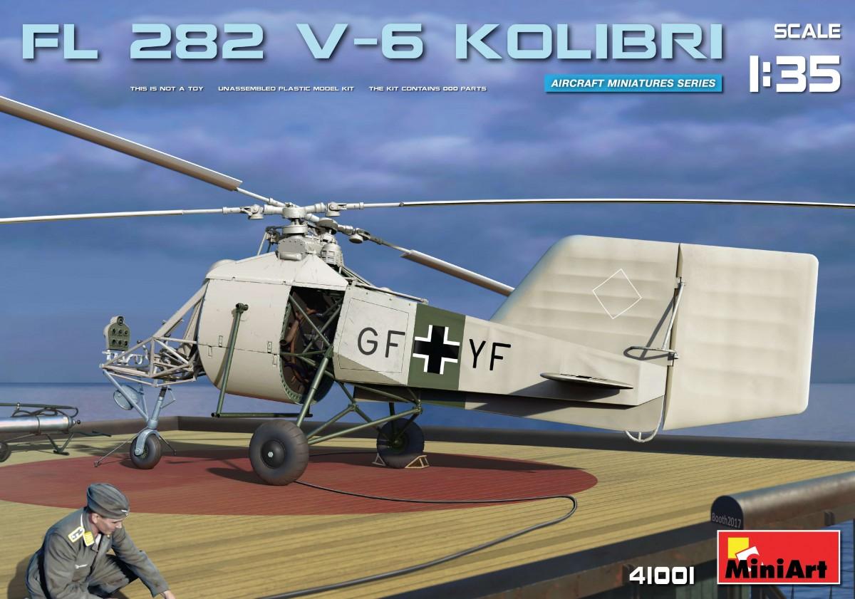 MiniArt Fl 282 V-6 Kolibri (1/35)