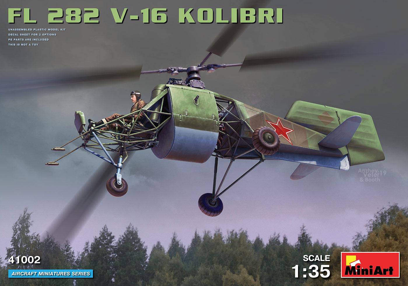 MiniArt Fl 282 V-16 Kolibri