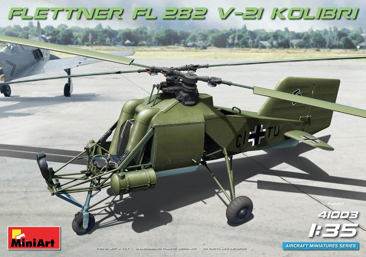MiniArt Flettner Fl 282 V-21 Kolibri (1/35)