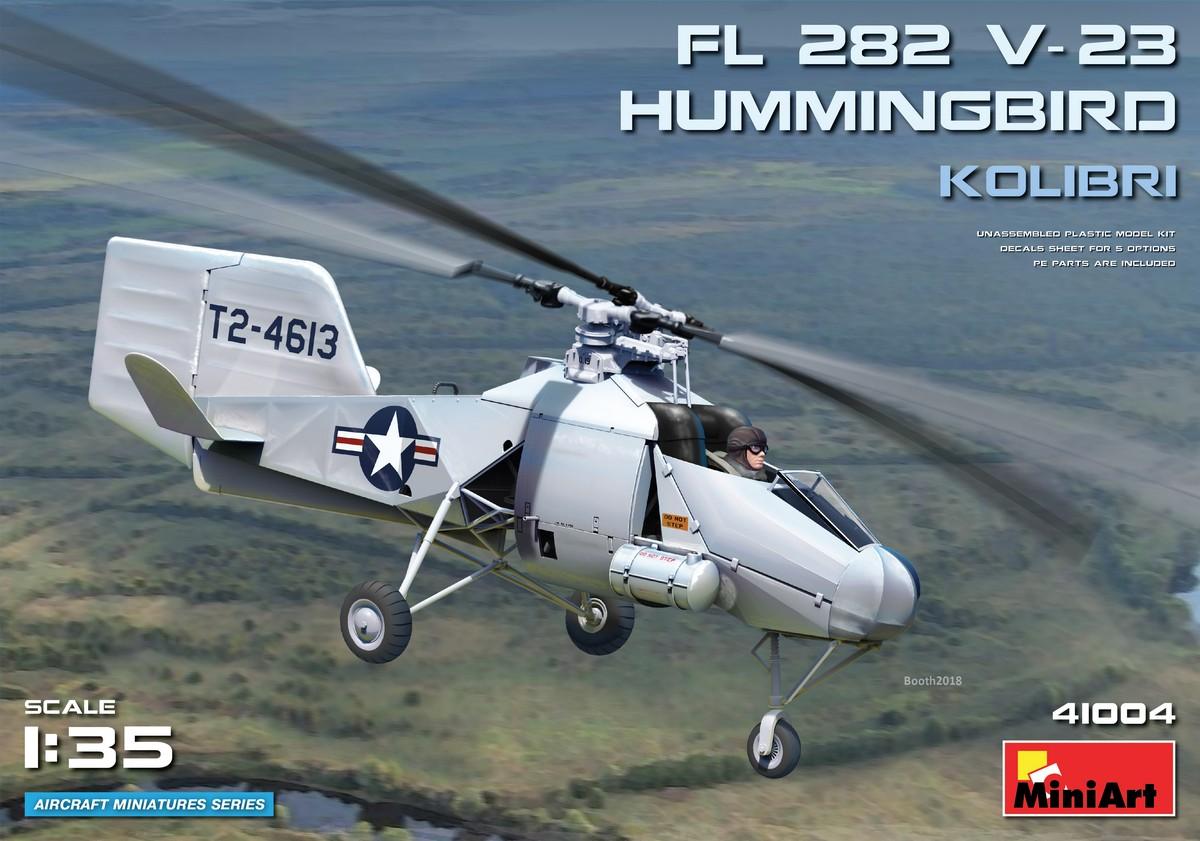 MiniArt Fl 282 V-23 Hummingbird (Kolibri) (1/35)