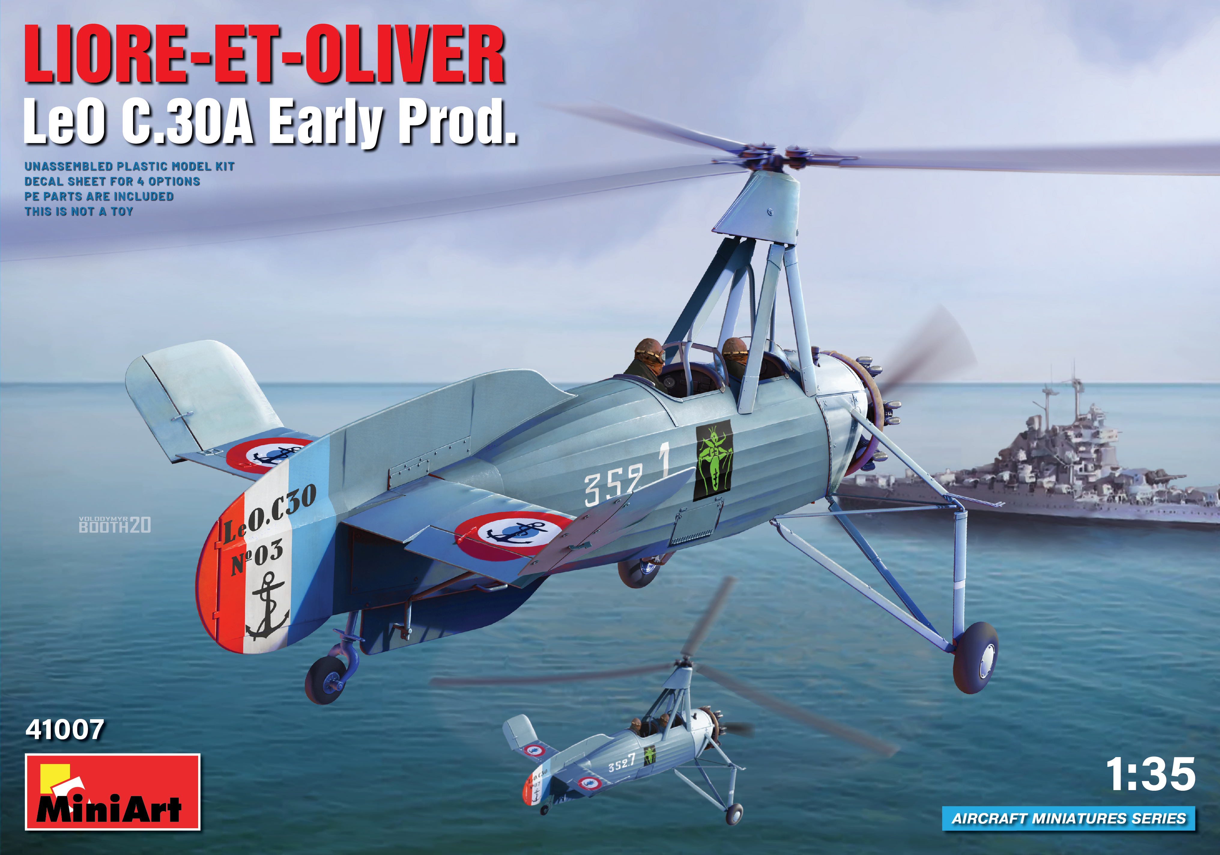 MiniArt Liore-et-Oliver LeO C.30A Early Prod
