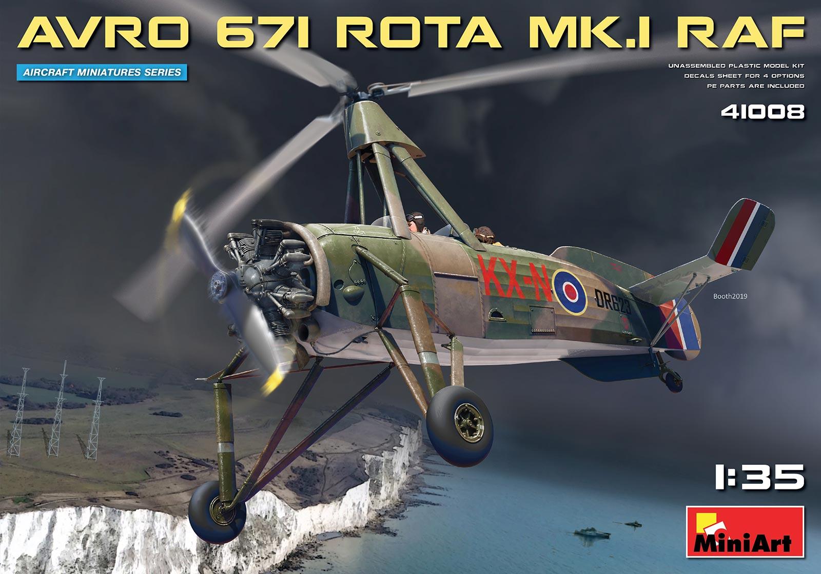 MiniArt Avro 671 Rota Mk.I RAF