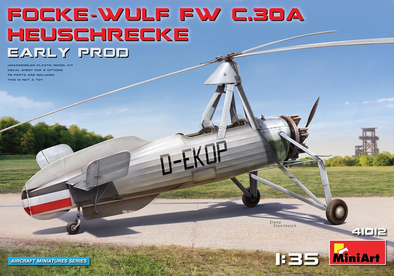 MiniArt Focke-Wulf Fw C.30A Heuschrecke. Early Prod