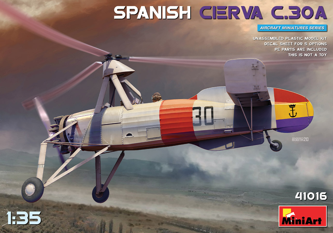 MiniArt 1/35 Spanish Cierva C.30A Aircraft