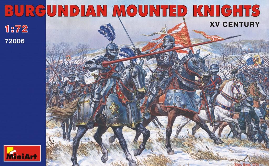 MiniArt Burgundian Mounted Knights. XV c. (1/72)
