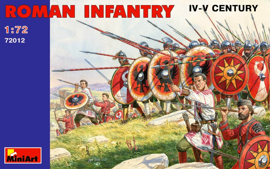 MiniArt Roman infantry. III- IV century (1/72)