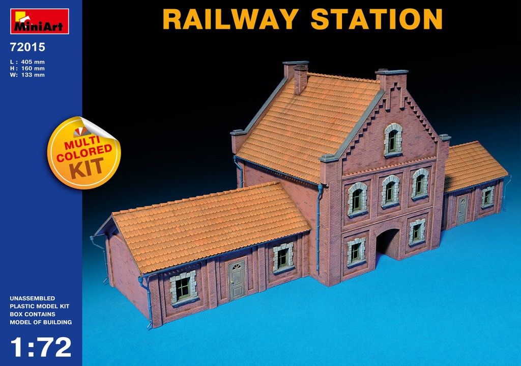 MiniArt Railway Station (1/72)