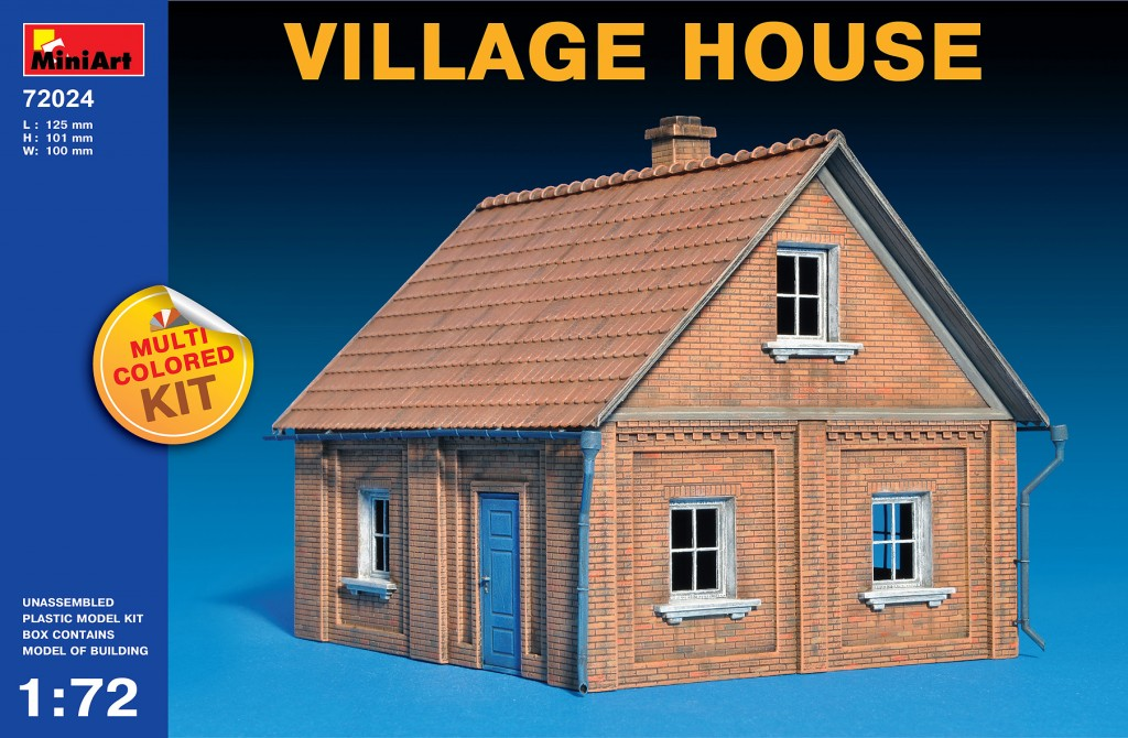 MiniArt Village House (1/72)