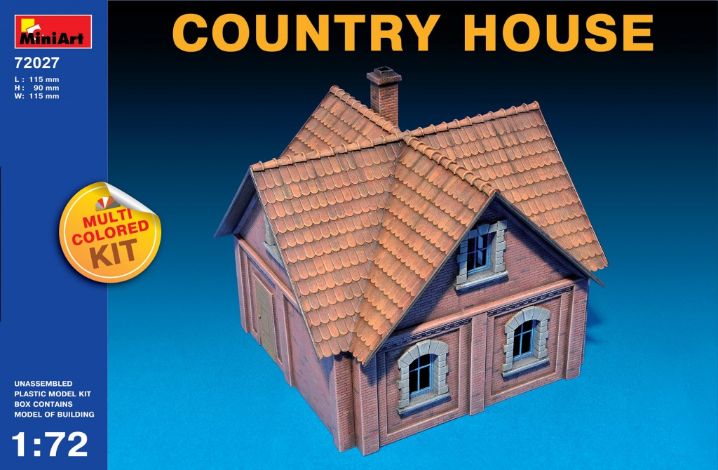 MiniArt Country House (1/72)