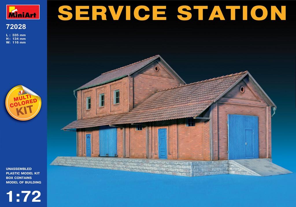 MiniArt Service Station (1/72)