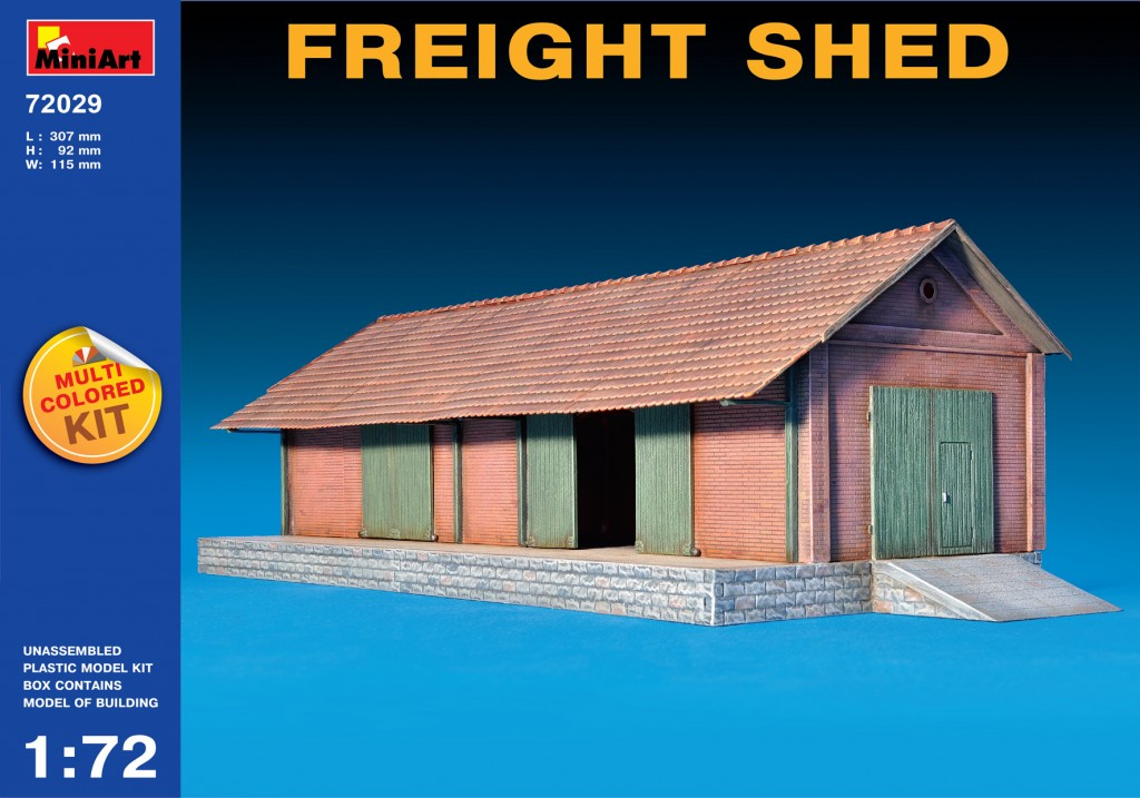 MiniArt Freight Shed (1/72)