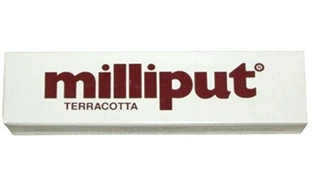 Milliput Terracotta, 4 oz/pack
