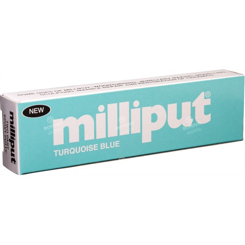Milliput Turquoise Blue, 4 oz/pack