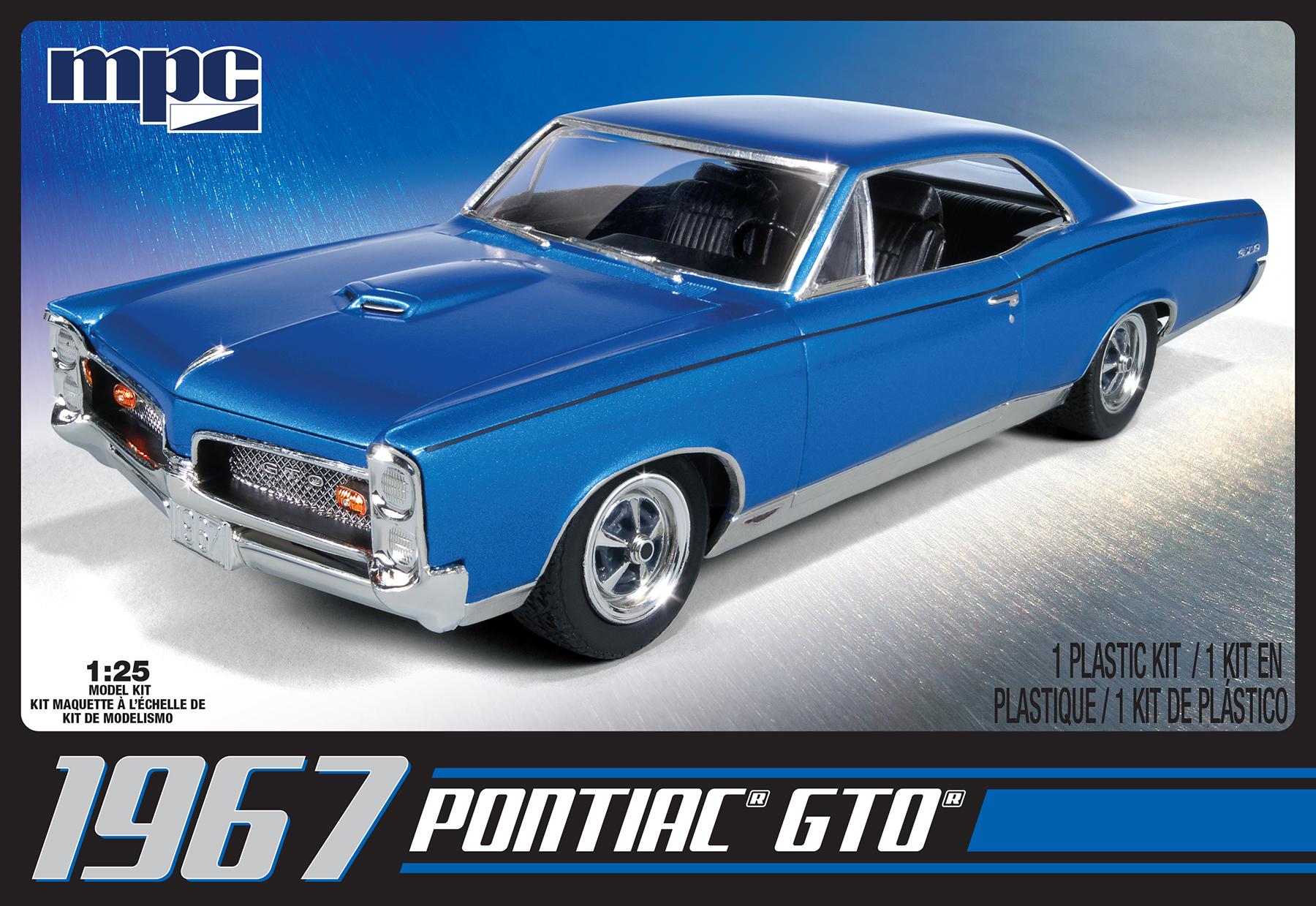 MPC 1/25 1967 Pontiac GTO