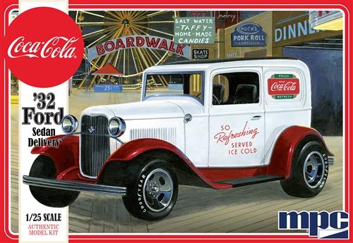 MPC 1/25 1932 Ford Sedan Delivery (Coca Cola)