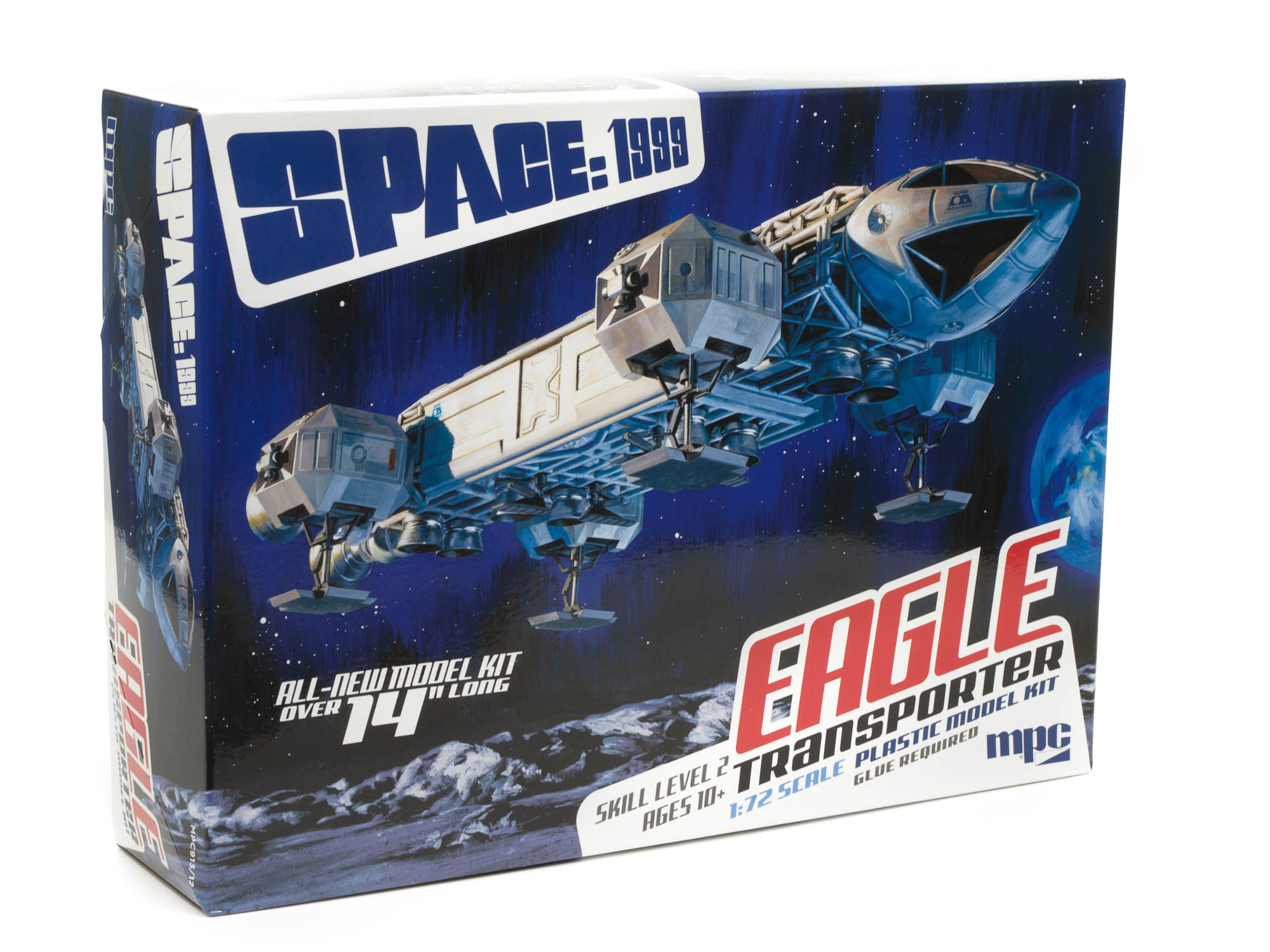 """MPC 1/72 Space 1999: 14"""" Eagle Transporter"""