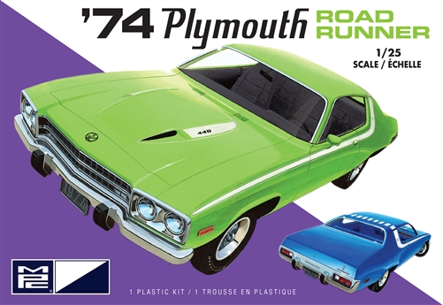 MPC 1/25 1974 Plymouth Road Runner (2T)