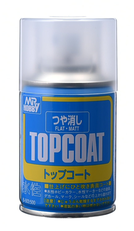 Mr Hobby Mr Top Coat Flat - 86ml
