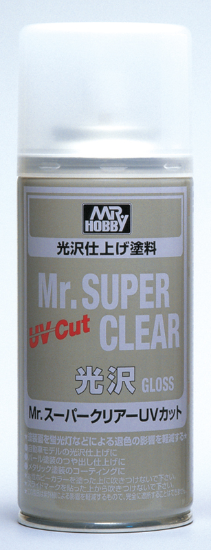 Mr Hobby Mr Super Clear UV Cut Gloss