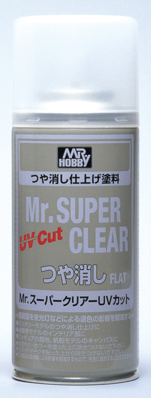 Mr Hobby Mr Super Clear UV Cut Flat