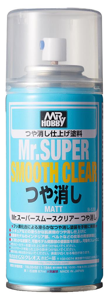 Mr Hobby Mr. Super Smooth Clear Spray - 170ml