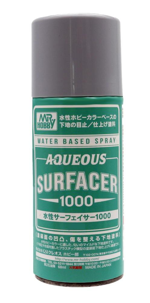 Mr Hobby AQUEOUS Surfacer 1000 Spray