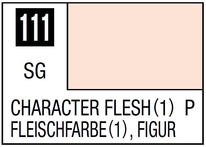 Mr Hobby Mr. Color 111 - Character Flesh (1) (Semi-Gloss/Primary) - 10ml