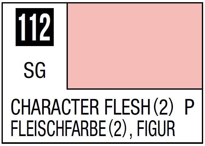 Mr Hobby Mr. Color 112 - Character Flesh (2) (Semi-Gloss/Primary) - 10ml