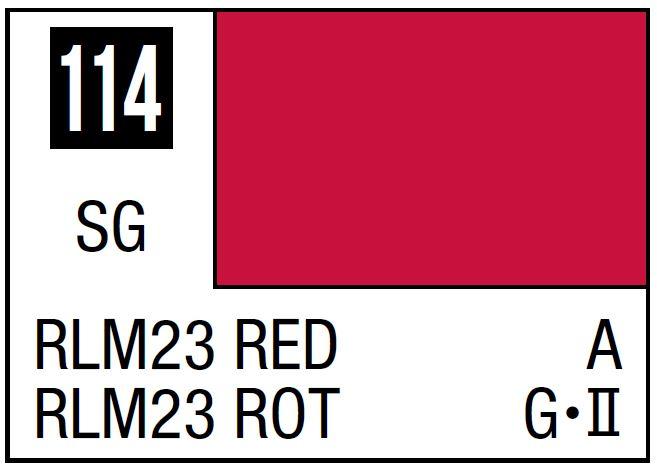 Mr Hobby Mr. Color 114 - RLM23 (Semi-Gloss/Aircraft) - 10ml
