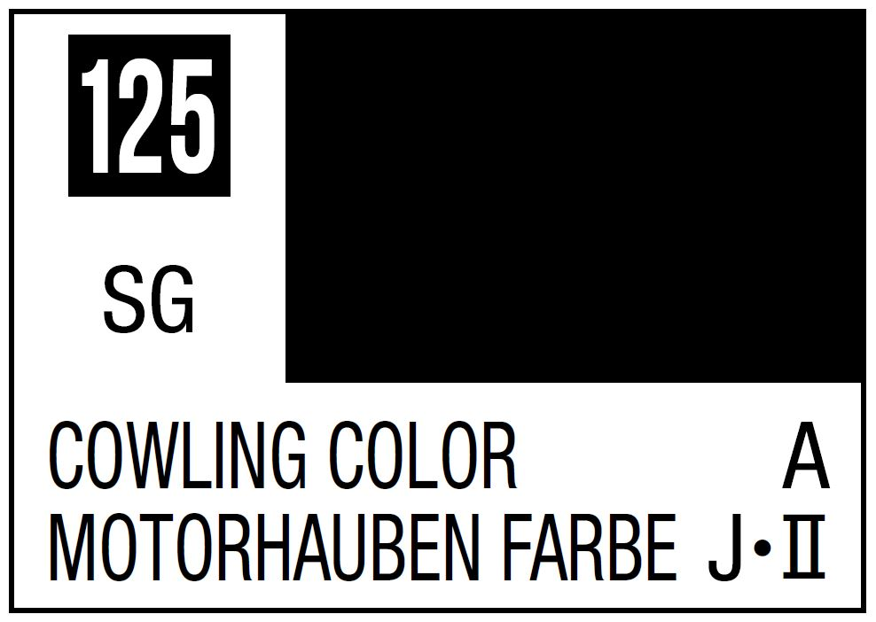 Mr Hobby Mr. Color 125 - Cowling Color (Semi-Gloss/Aircraft) - 10ml