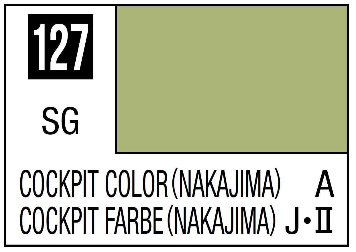 Mr Hobby Mr. Color 127 Cockpit Color - Nakajima (Semi-Gloss) - 10ml