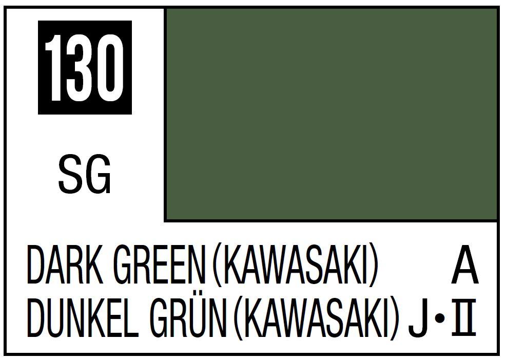 Mr Hobby Mr. Color 130 - Dark Green (Semi-Gloss/Aircraft) - 10ml