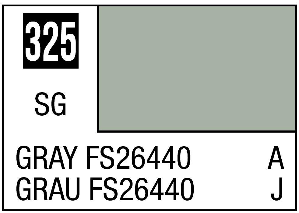 Mr Hobby Mr. Color 325 - Semi Gloss Gray FS26440 - 10ml