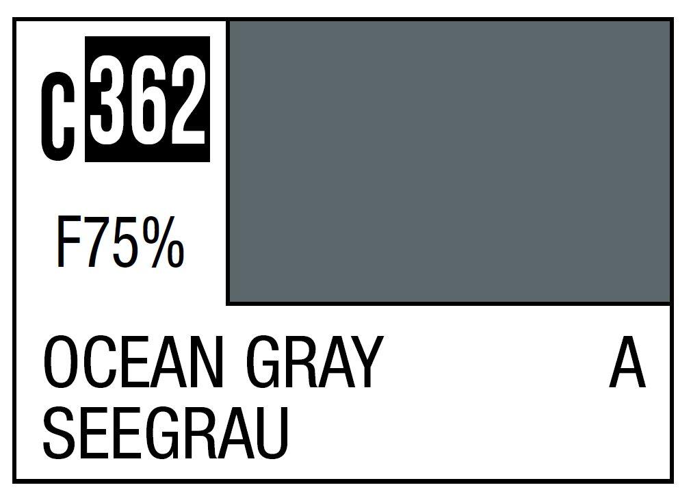 Mr Hobby Mr. Color C362 Ocean Grey (RAF Standard Color / WWII Mid-Late) - 10ml