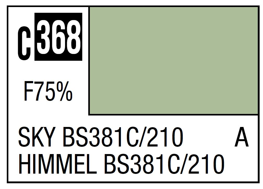 Mr Hobby Mr. Color C368 Sky Bs381C/210 (RAF Standard Color / WWII Early) - 10ml