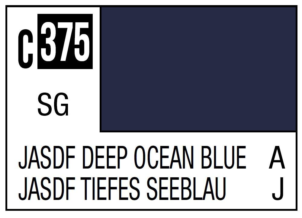 Mr Hobby Mr. Color C375 Jasdf Deep Ocean Blue (Japan Air Self Difence Force OfFShore Camouflage) - 10ml
