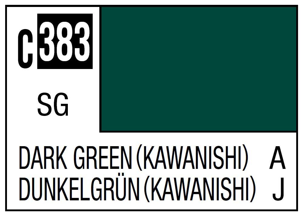 Mr Hobby Mr. Color C383 Dark Green (Kawanishi) (Imperial Japanese Navy Shiden-Kai(George)) - 10ml