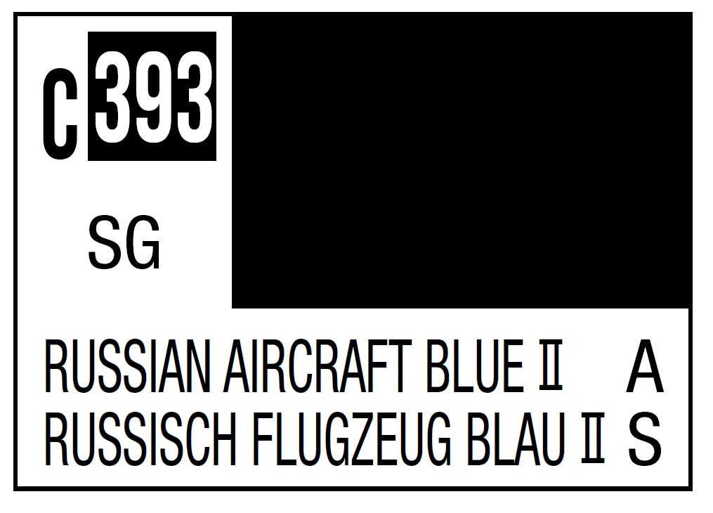 Mr Hobby Mr. Color C393 Russian Aircraft Blue II (Current Russian Aircraft Top) - 10ml
